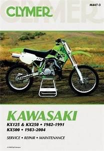 Kawasaki Kx125  Kx250  U0026 Kx500 1982 - 2004 Clymer Owners Service  U0026 Repair Manual