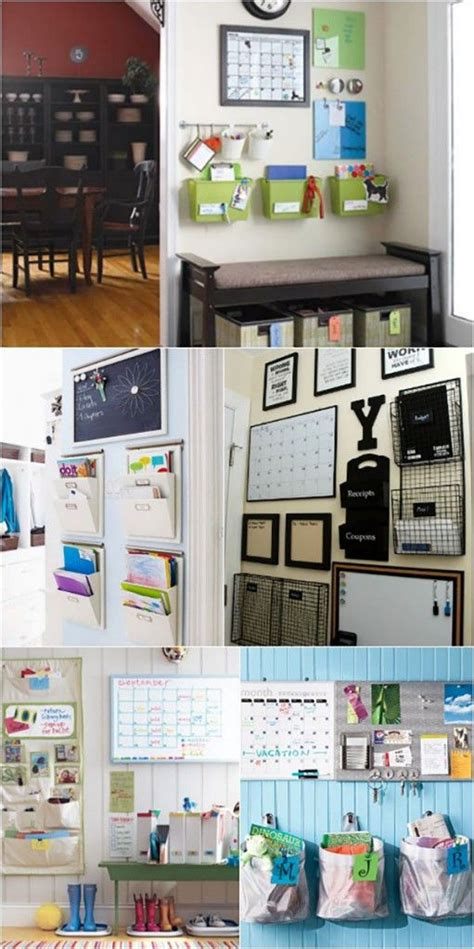 organize a kitchen 18 back to school family command center ideas free 1239