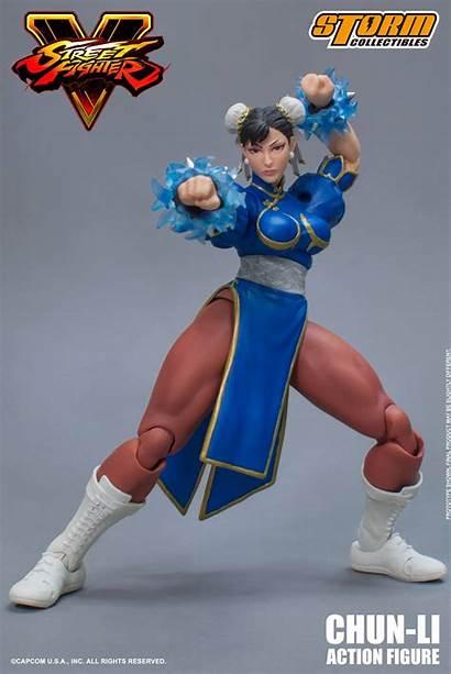 Chun Li Fighter Street Figure Storm Collectibles