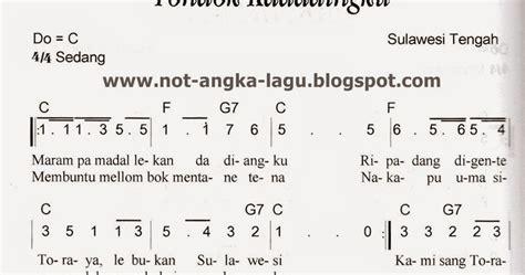 not angka lagu peuyeum bandung not angka tondok kadadingku kumpulan not angka lagu