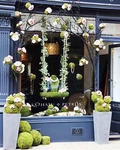 spring, retail, window, display