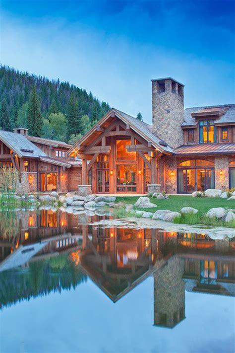 amazing mountain house designs homemydesign