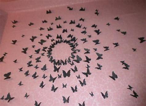handmade butterflies decorations  walls paper craft ideas