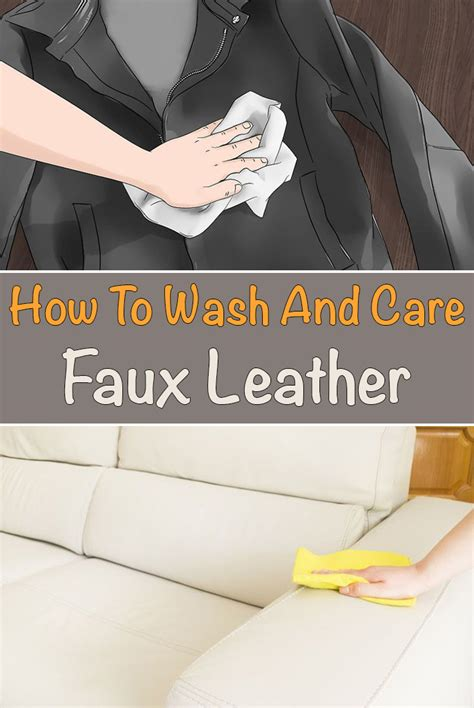 How To Clean A Pleather by How To Wash And Care Faux Leather Simple Tips For You