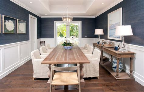 wallpaper design for home interiors blue and white dining room peenmedia com