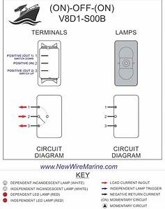 Carling V Series Rocker Switch Wiring Diagram