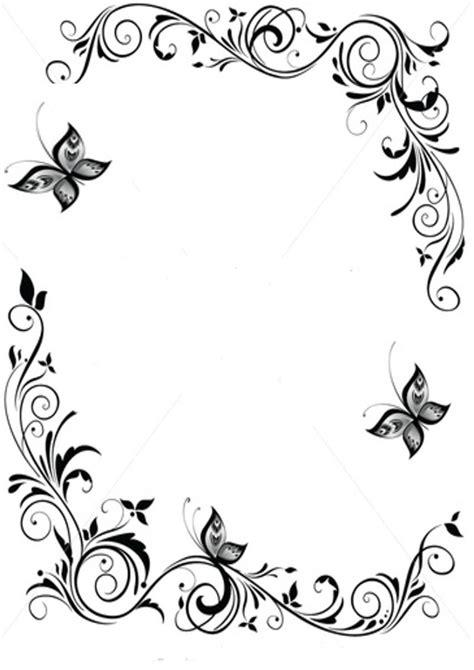 black  white borders clipartioncom