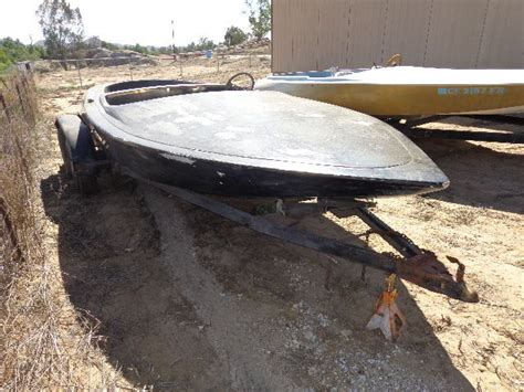 Flat Bottom Boat Deck by Hallett Center Deck Flat Bottom 1967 For Sale For 175