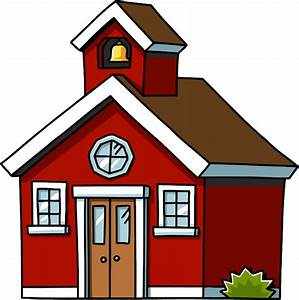 School House Clipart - The Cliparts