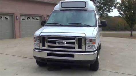 hd video  ford  extended  passenger high top van
