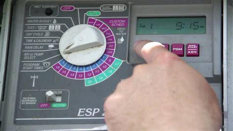 webbtraining rainbird irrigation control training video youtube