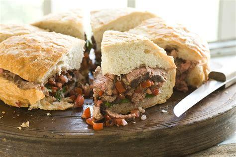 hearty steak sandwich   recipe relish