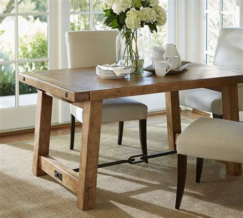 benchwright extending dining table