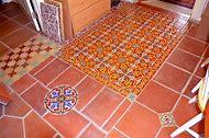 Spanish Ceramic Tile Flooring