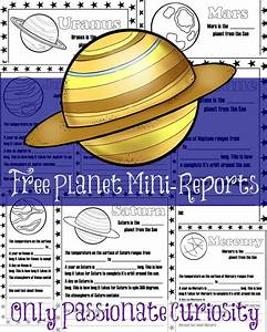 Planet Mini-Reports - Only Passionate Curiosity