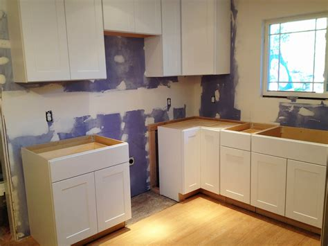 hton bay shaker cabinets inspired honey bee home kitchen renovation phase 3