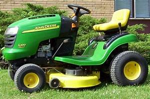 John Deere Riding Mower Manual L110