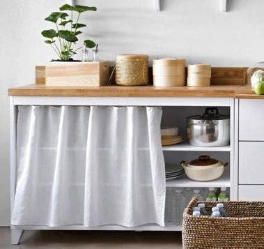 meuble a rideau cuisine meubles de cuisine en bois archives le déco de mlc