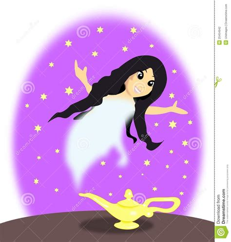 l with genie stock illustration image of human