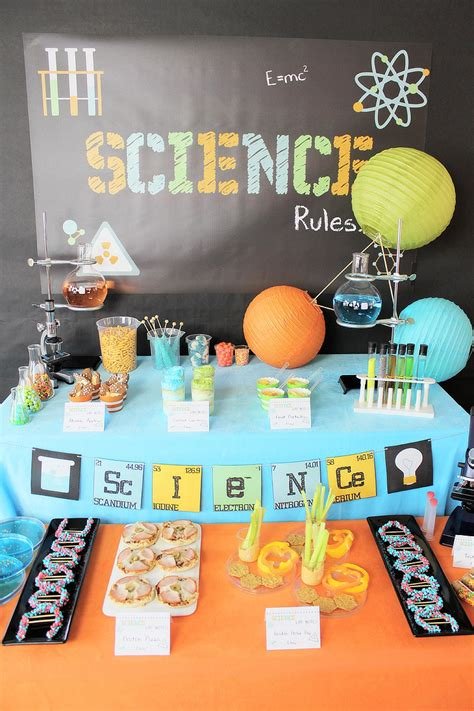 project decoration birthday decorations science birthday party ideas pbs parents 39 s