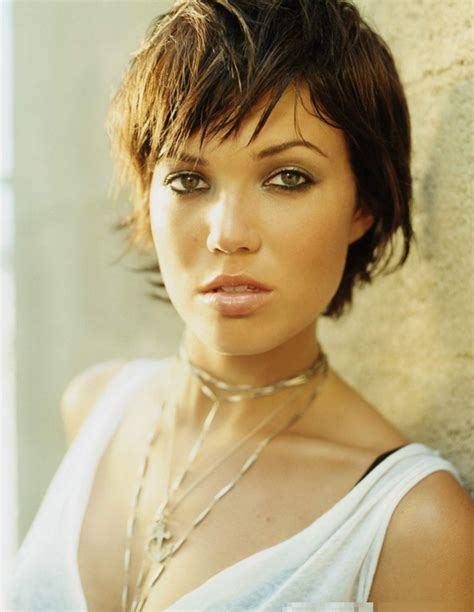 mandy moore short hairstyle mandy moore hairstyles