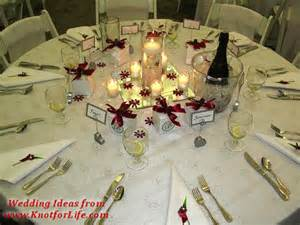 wedding reception table decorations white and table setting with centerpiece details