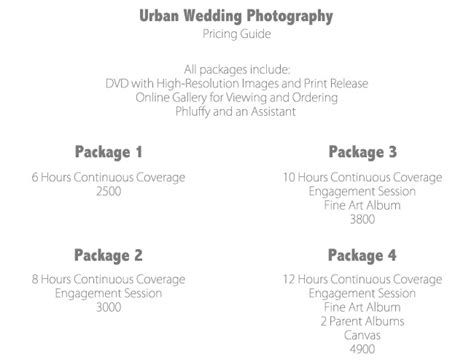 photography pricing how to create photography packages that sell the modern tog