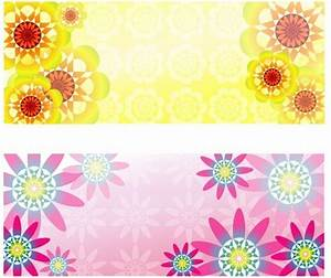 Abstract flower pattern background graphic Free vector in ...