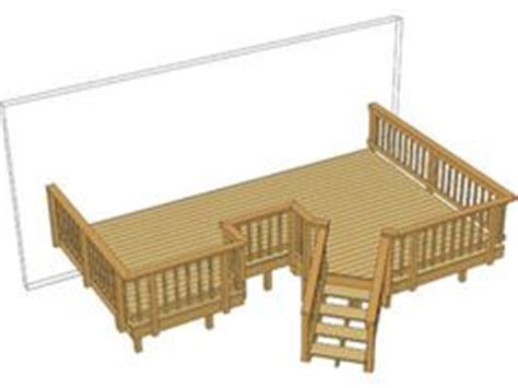 Menards Free Deck Plans by 1000 Images About Deck On Free Deck Plans