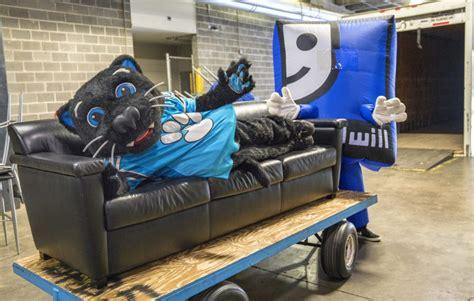 carolina panthers make large donation of bank of america