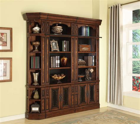 Bookcases Wall Units by House Leonardo Library Wall Unit Bookcase Set 5 Ph