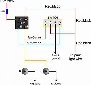 Fog Light Switch Wiring Diagram