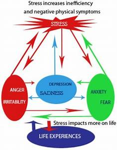 Stress Diagram Of Stress See How Anxiety Anger And