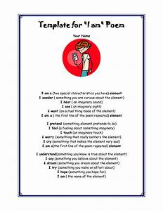 best photos of poem layout template i am poem template With poetry templates for kids