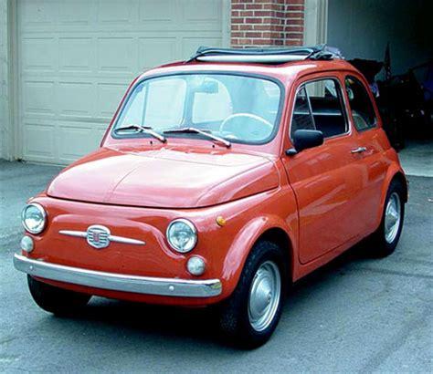 Fiat 500 History fiat 500 club canada