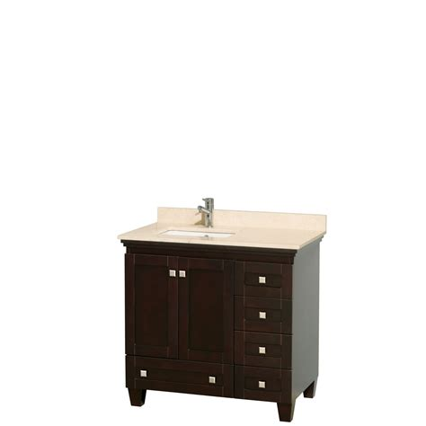 wyndham collection acclaim   single bathroom vanity