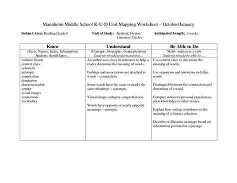 15 best images of reading comprehension worksheets middle