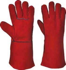 Gauntlet Welders Gloves