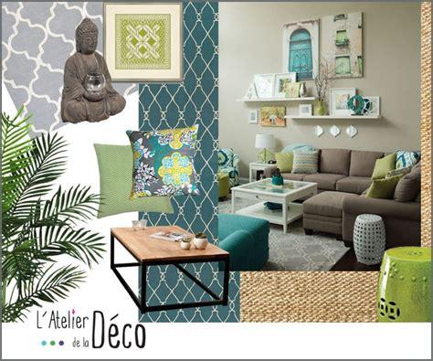 interieur et canapé planche tendance salon l 39 atelier de la déco