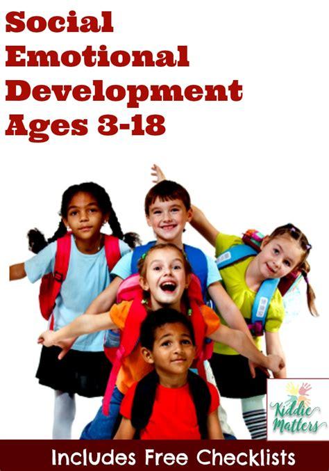 social emotional development checklists for and 575 | Social Emotional Development