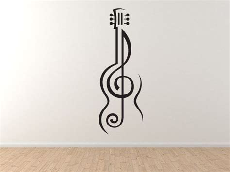G Clef Home Decor : Music Note#2- Guitar Treble Clef Symbol Artist School