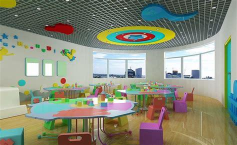 kindergarten interior design 3d house