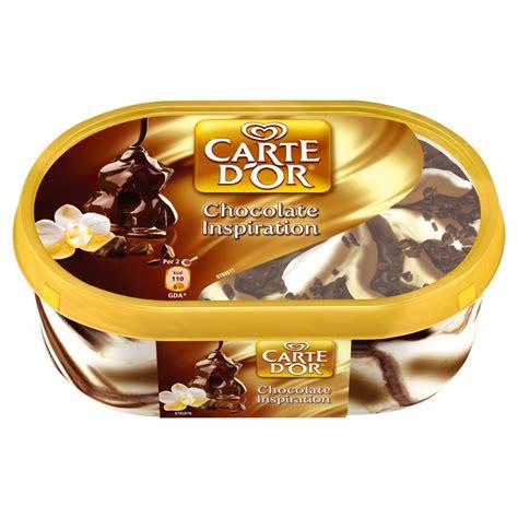 carte d or dessert carte d or chocolate dessert 900ml tubs desserts frozen