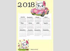 Novos calendários 2018 para baixar Graça