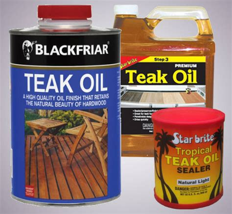 benefits teak oil finish wooden surfaces