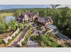 $5495 Million Lakefront English Country Style Home In Six