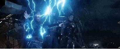 Endgame Avengers Thor Again Experience Thanos Mjolnir