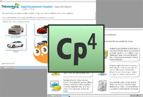 Adobe Captivate Free Templates by The Learning Smith Elearning Development Consulting