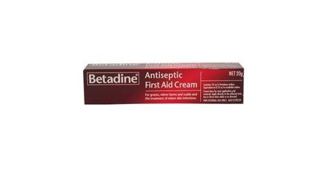 Betadine First Aid Cream   ProductReview.com.au
