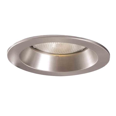 Recessed Lighting Trim by Halo 5000 Series 5 In Satin Nickel Recessed Ceiling Light